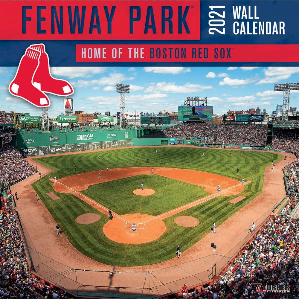 Fenway Park Boston 2021 Wall Calendar