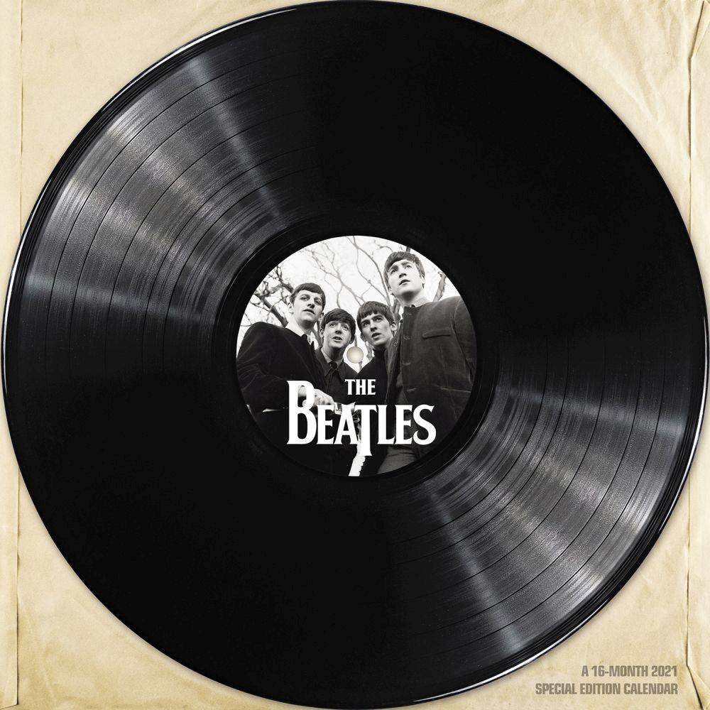 2021 Beatles Special Edition Wall Calendar