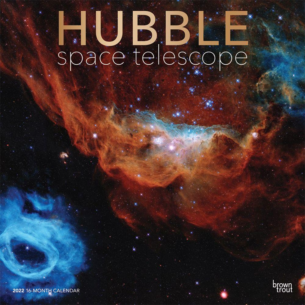 Hubble Space Telescope 2022 Wall Calendar