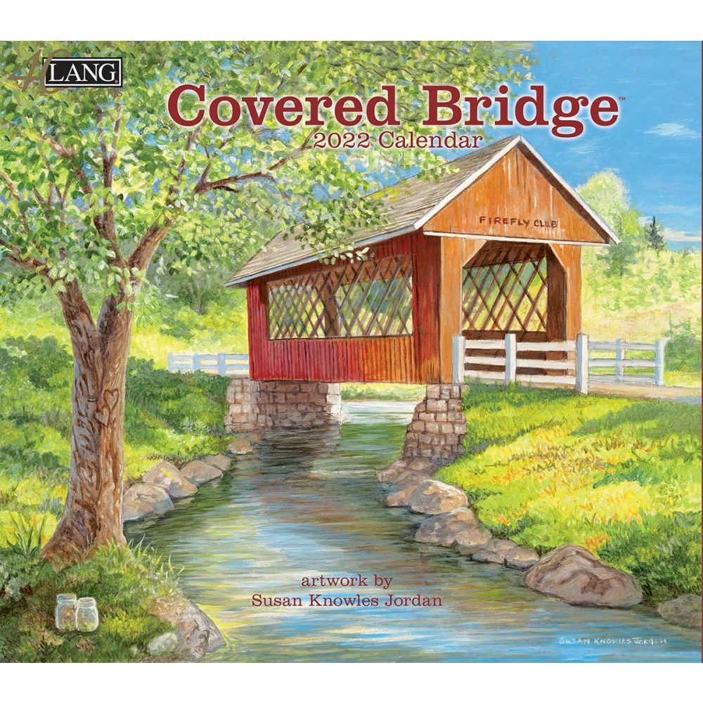 Covered Bridge 2022 Wall Calendar