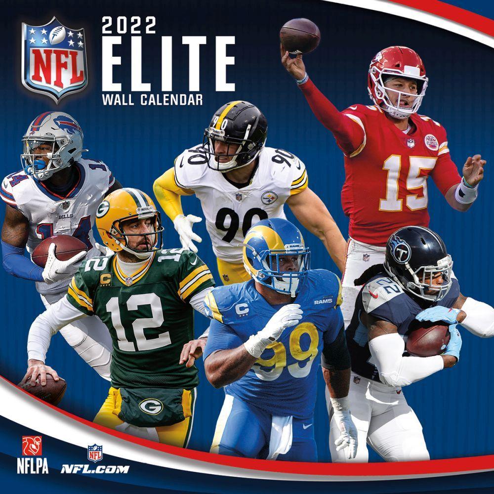 NFL Elite 2022 Wall Calendar