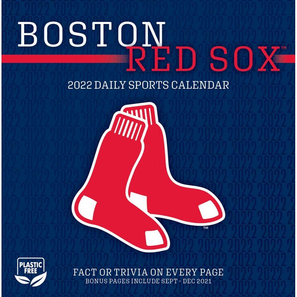 Boston Red Sox 2022 Desk Calendar