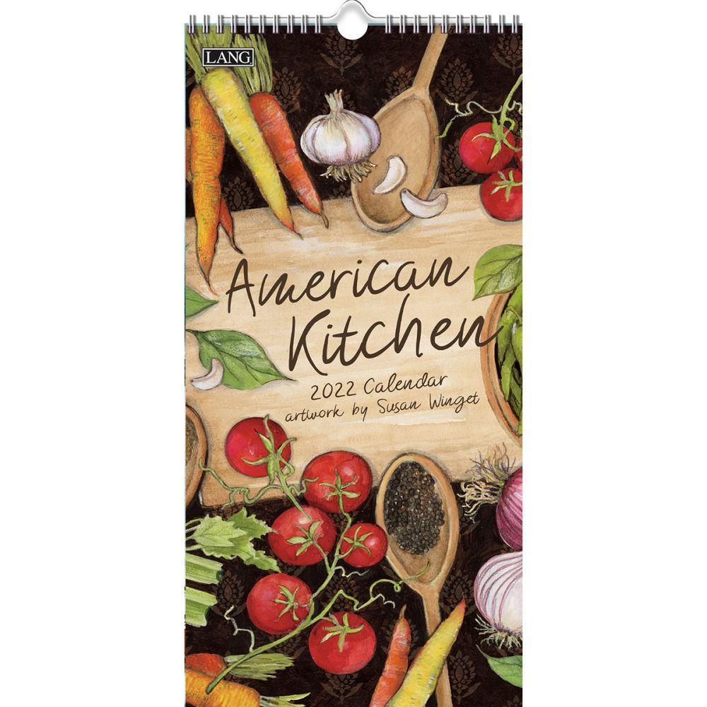American Kitchen 2022 Vertical Wall Calendar