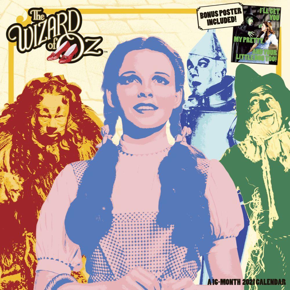 Wizard of Oz 2021 Wall Calendar