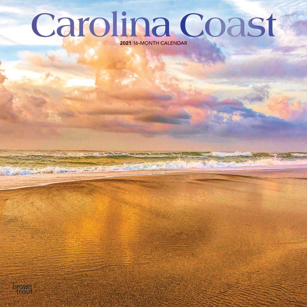 Carolina Coast 2021 Wall Calendar