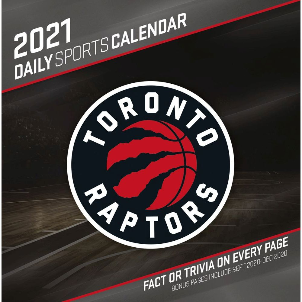 2021 Toronto Raptors Desk Calendar