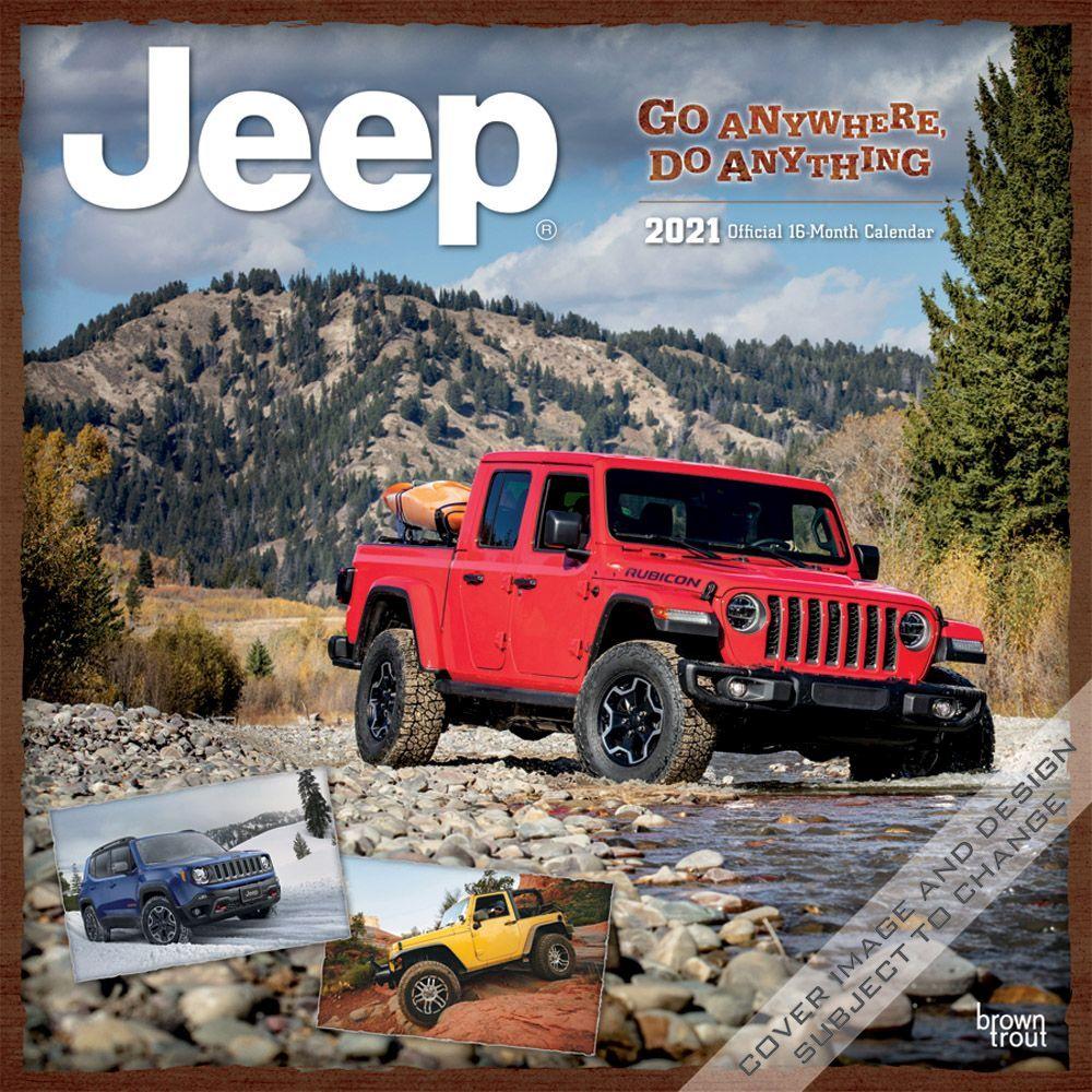 2021 Jeep Wall Calendar