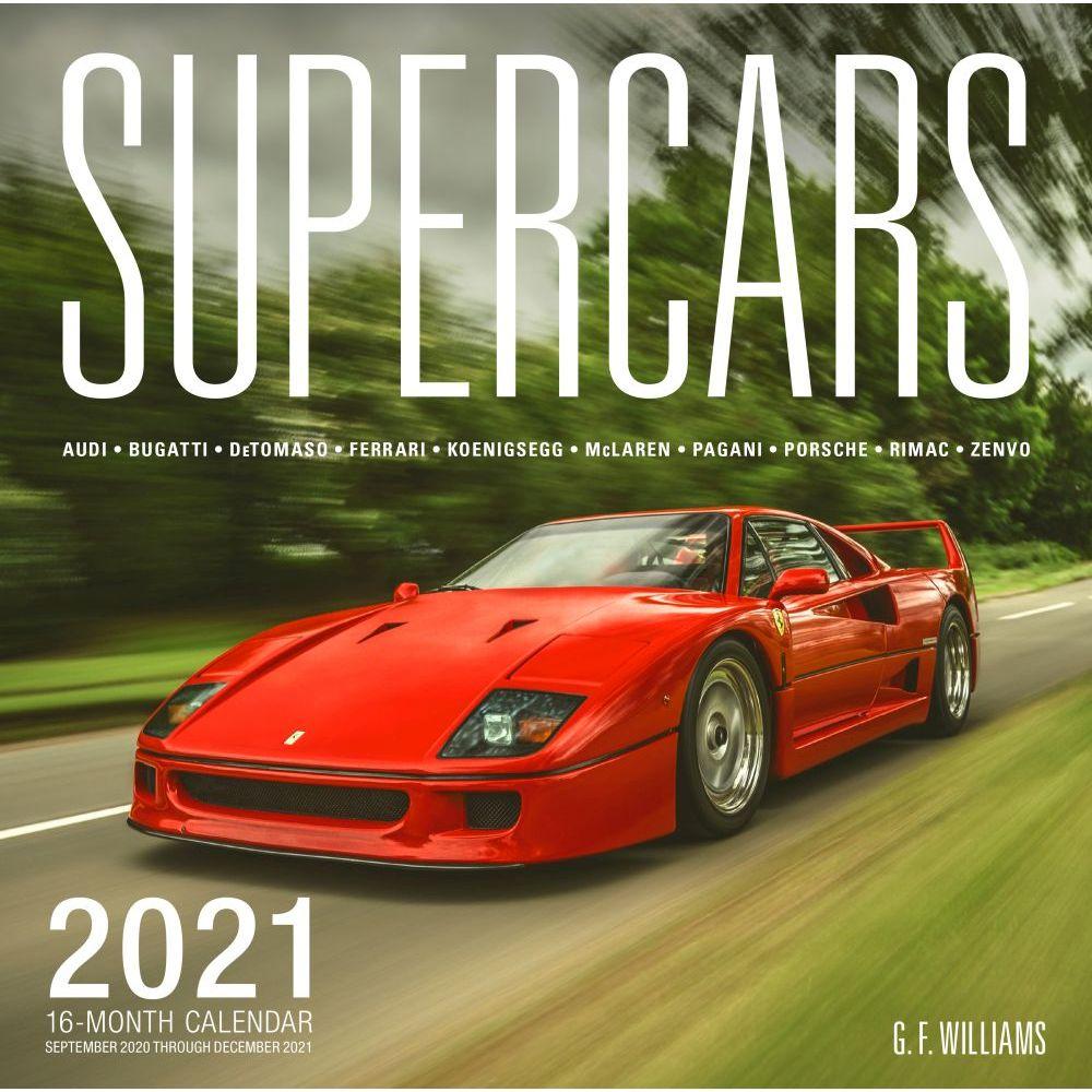 2021 Supercars Wall Calendar