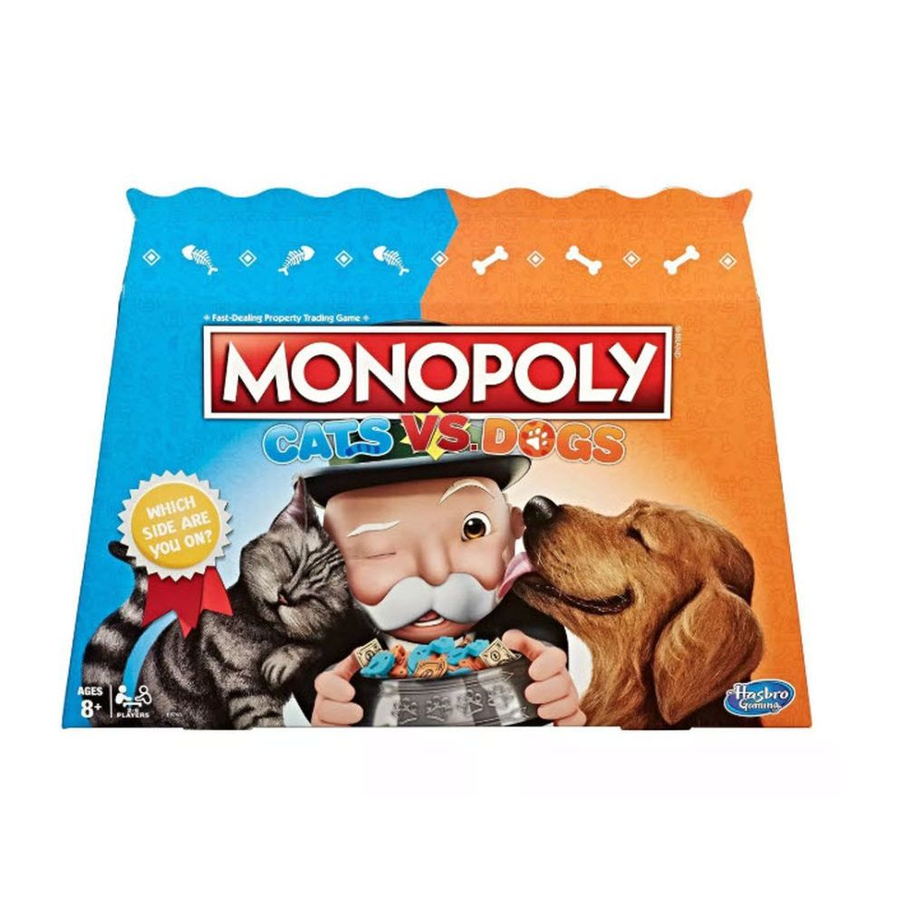 Cats Vs Dogs Monopoly