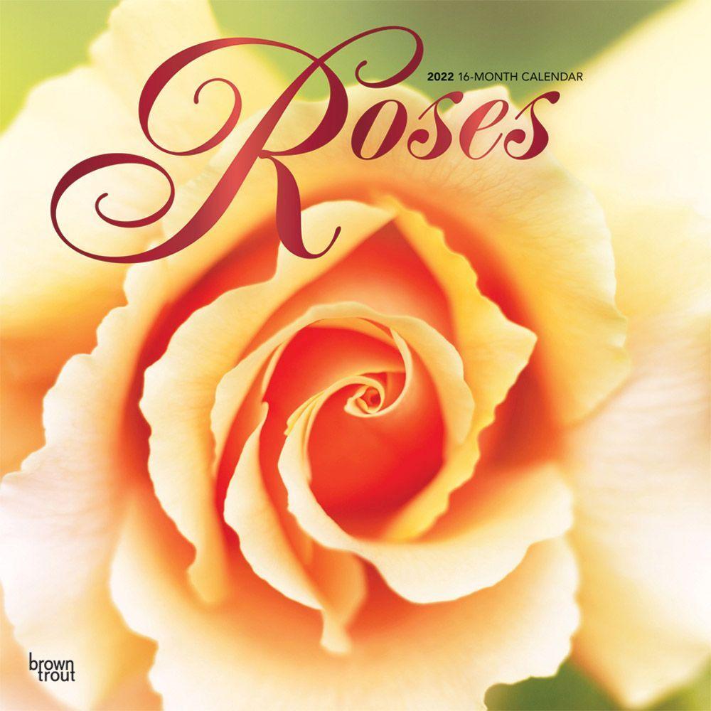 Roses 2022 Wall Calendar