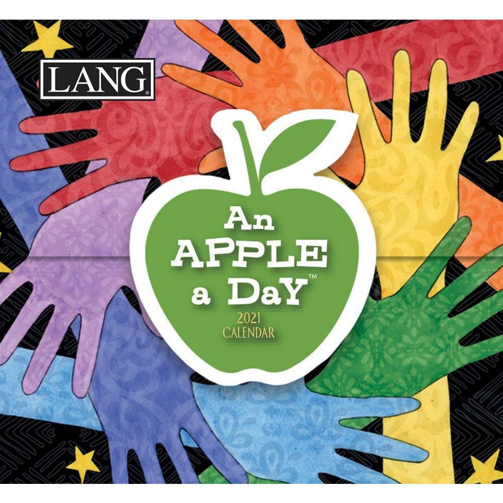 2021 An Apple a Day 365 Daily Thoughts Desk Calendar by Susan Winget