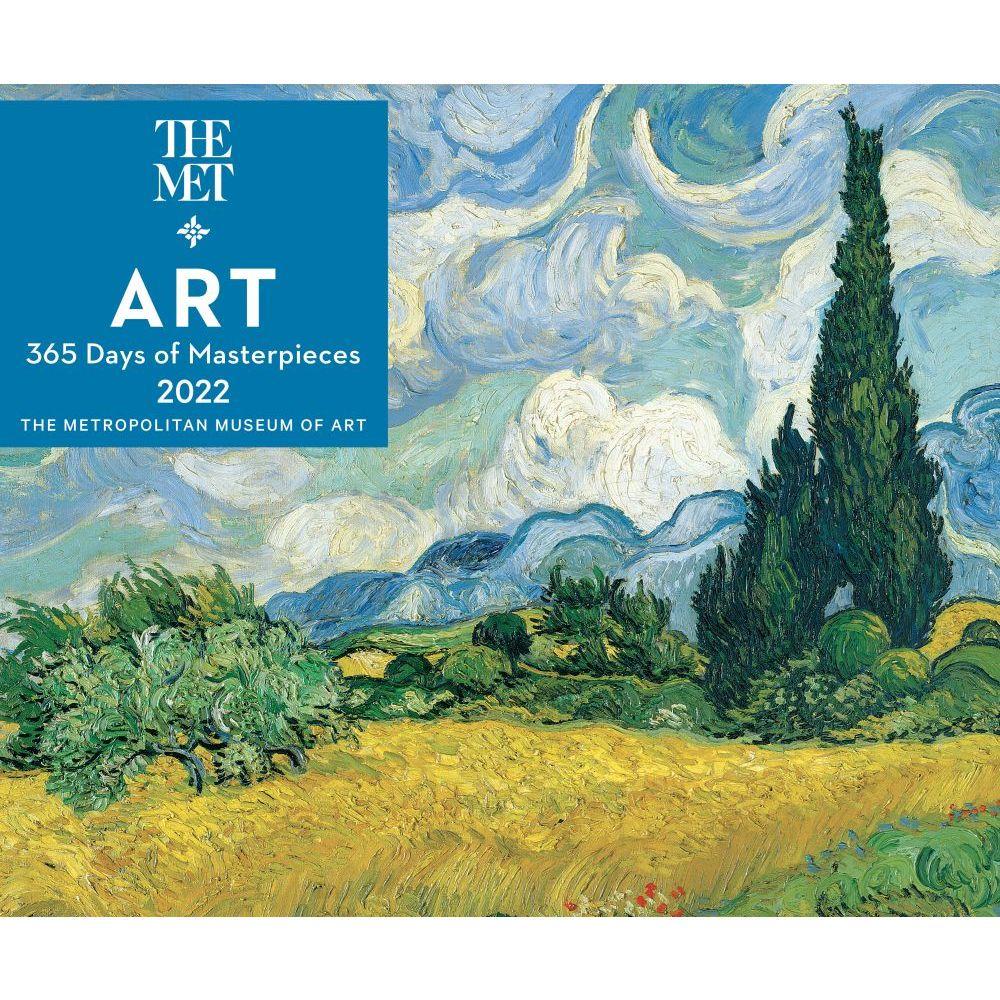 365 Days of Art 2022 Desk Calendar Metropolitan Museum of Art