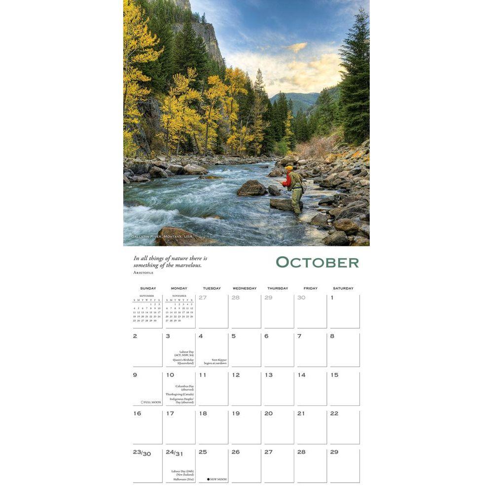 Lure Of Fishing 2022 Wall Calendar Calendars Com