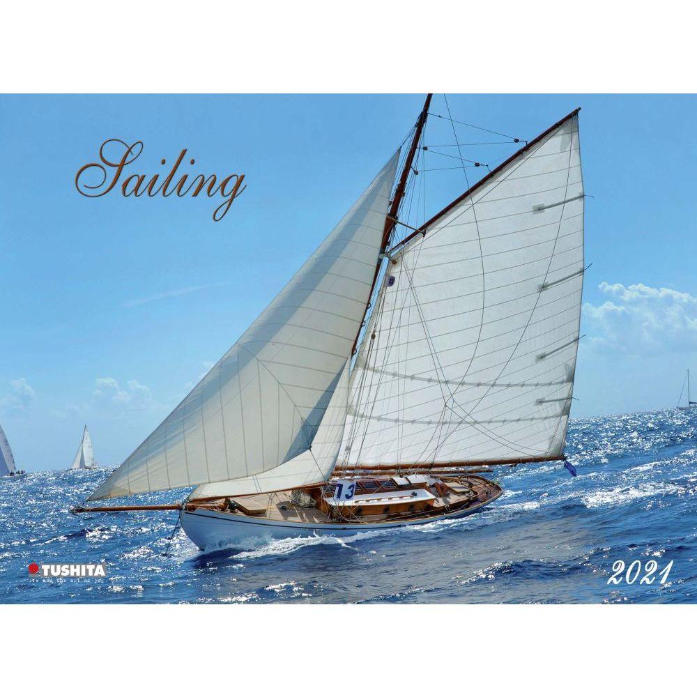 Sailing Poster 2021 Wall Calendar