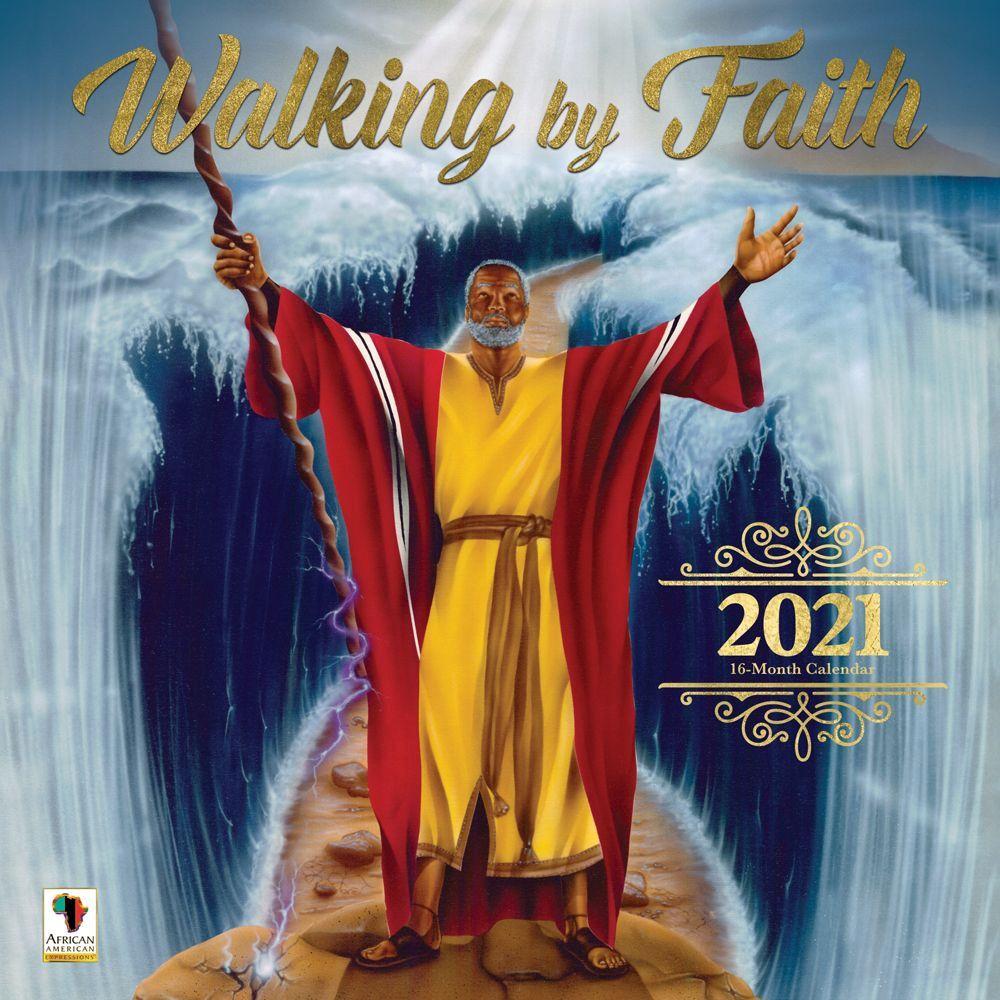 2021 Walking by Faith Wall Calendar