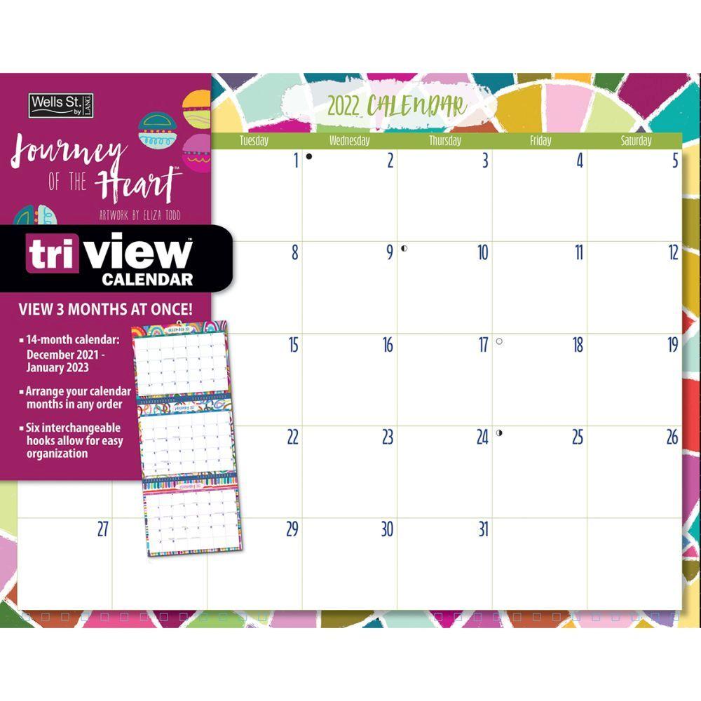 Journey Of The Heart 2022 TriView Calendar