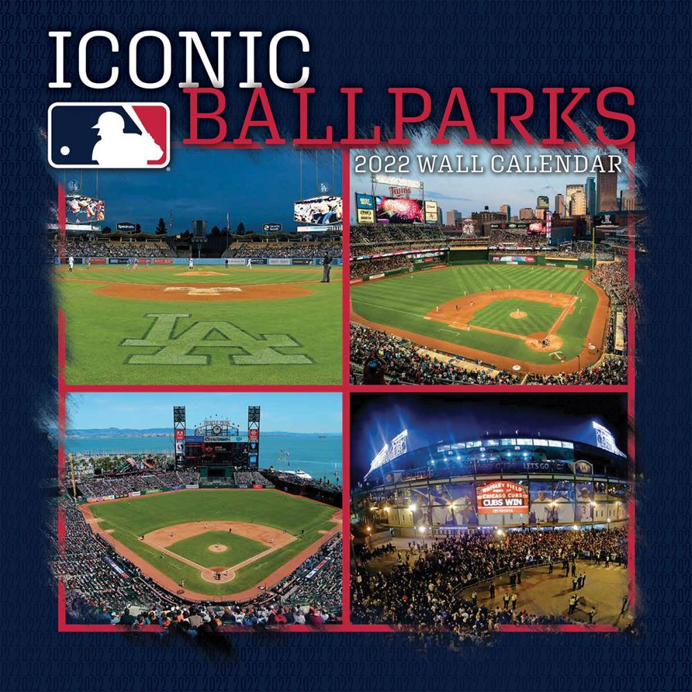 Baseball Stadiums 2022 Wall Calendar