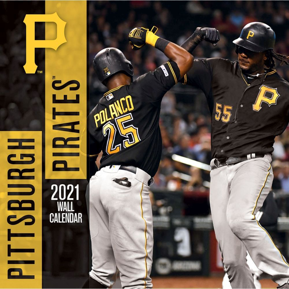 Pittsburgh Pirates 2021 Wall Calendar