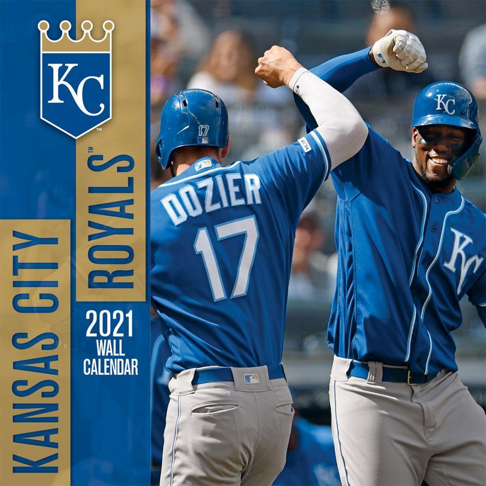 Kansas City Royals 2021 Wall Calendar