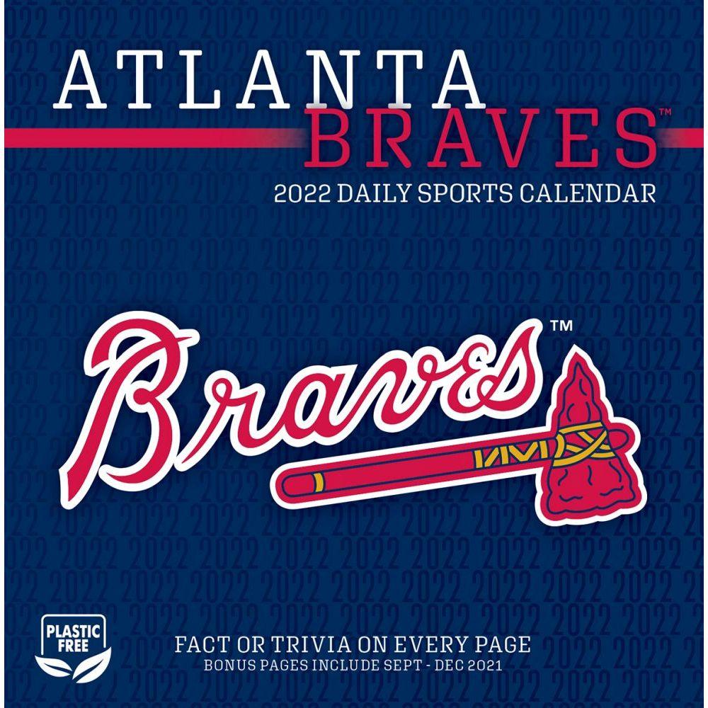 Atlanta Braves 2022 Desk Calendar