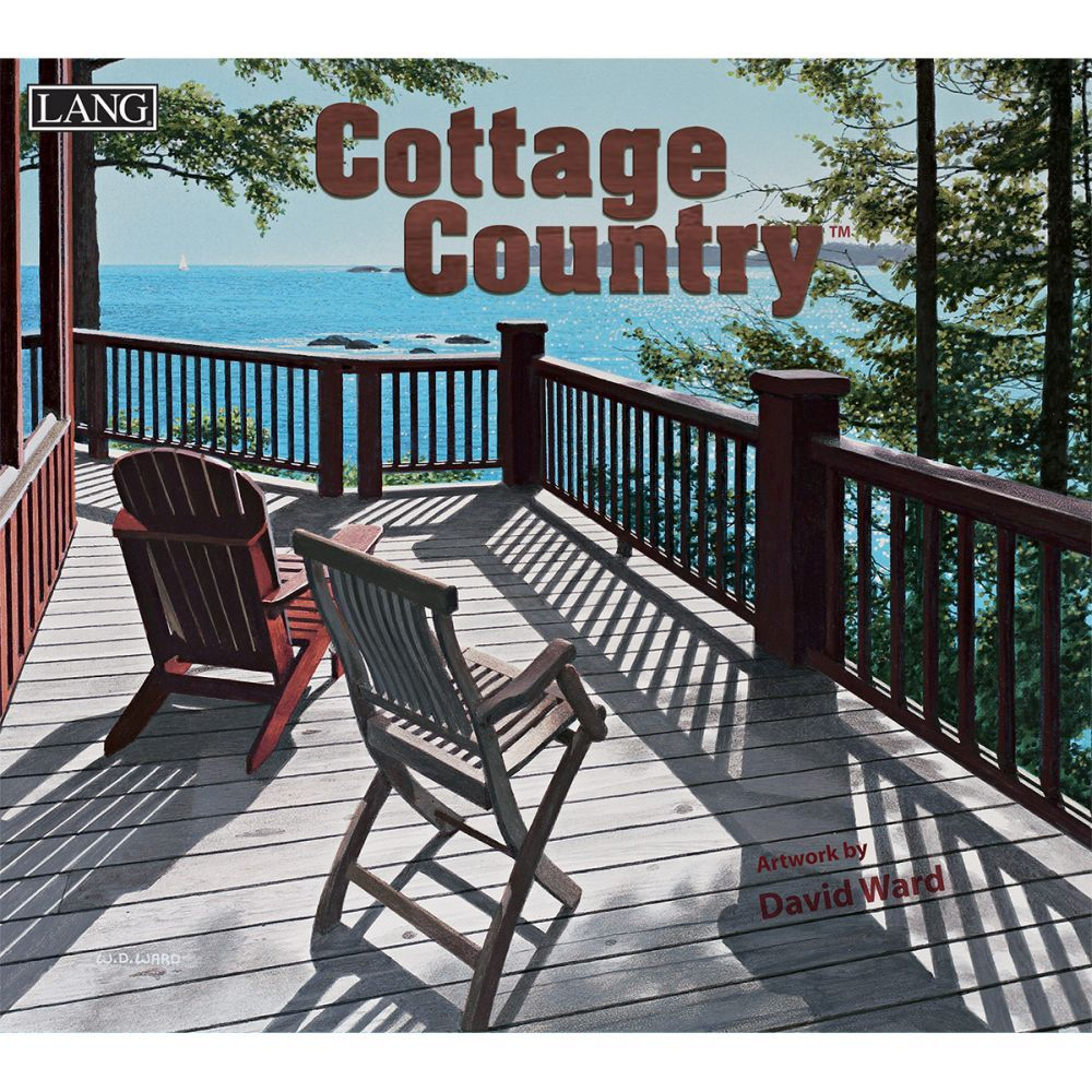 2021 Cottage Country Wall Calendar by David Ward