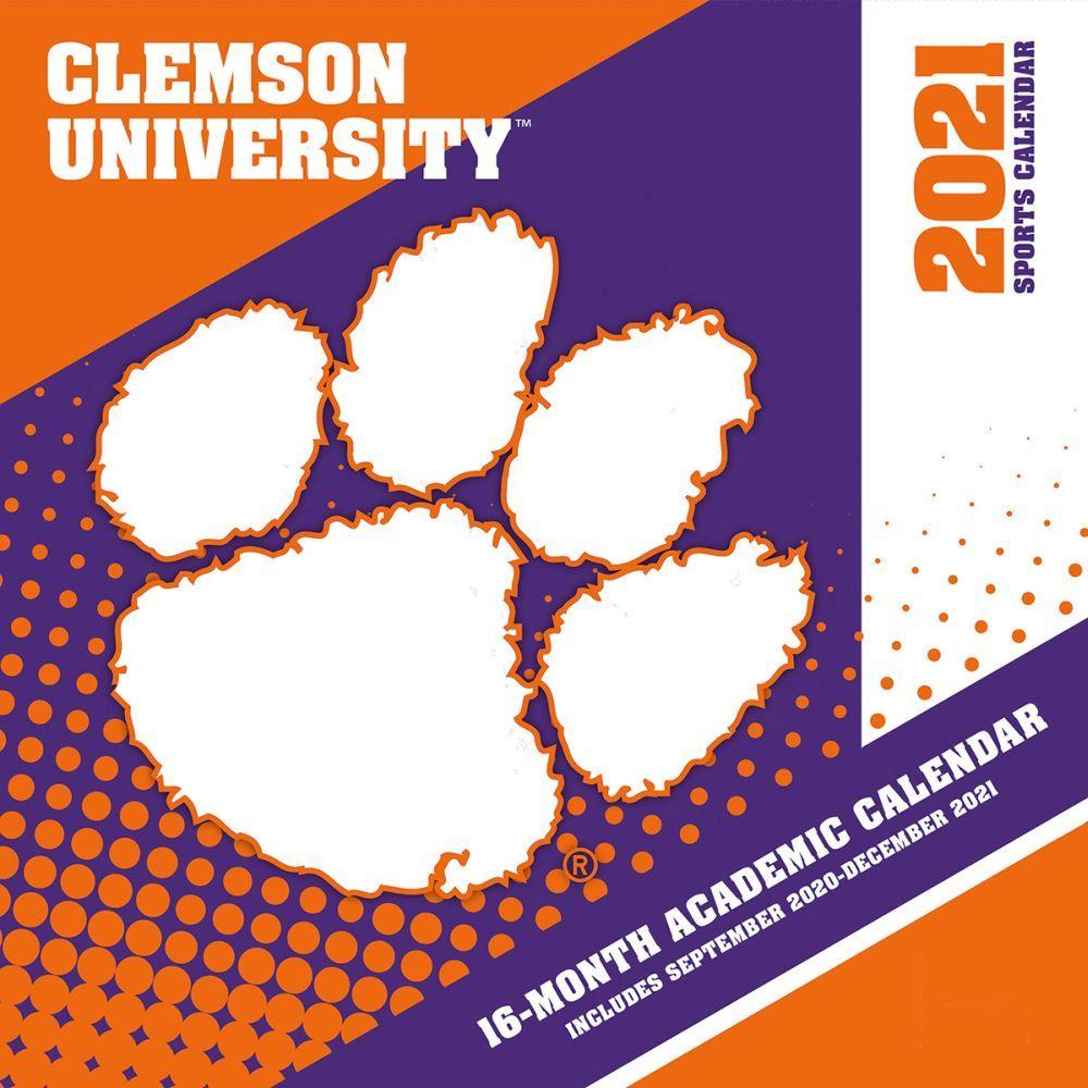 2021 Clemson Tigers Mini Wall Calendar
