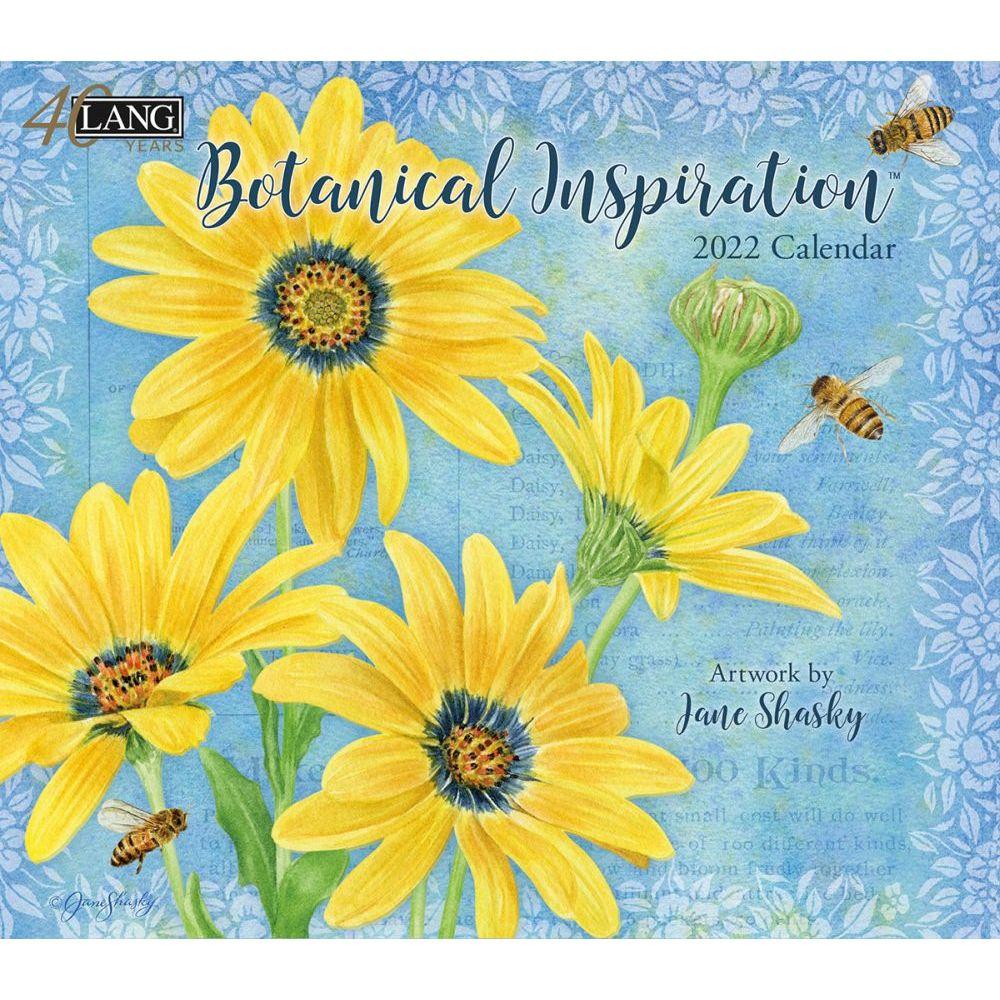 Botanical Inspiration 2022 Wall Calendar
