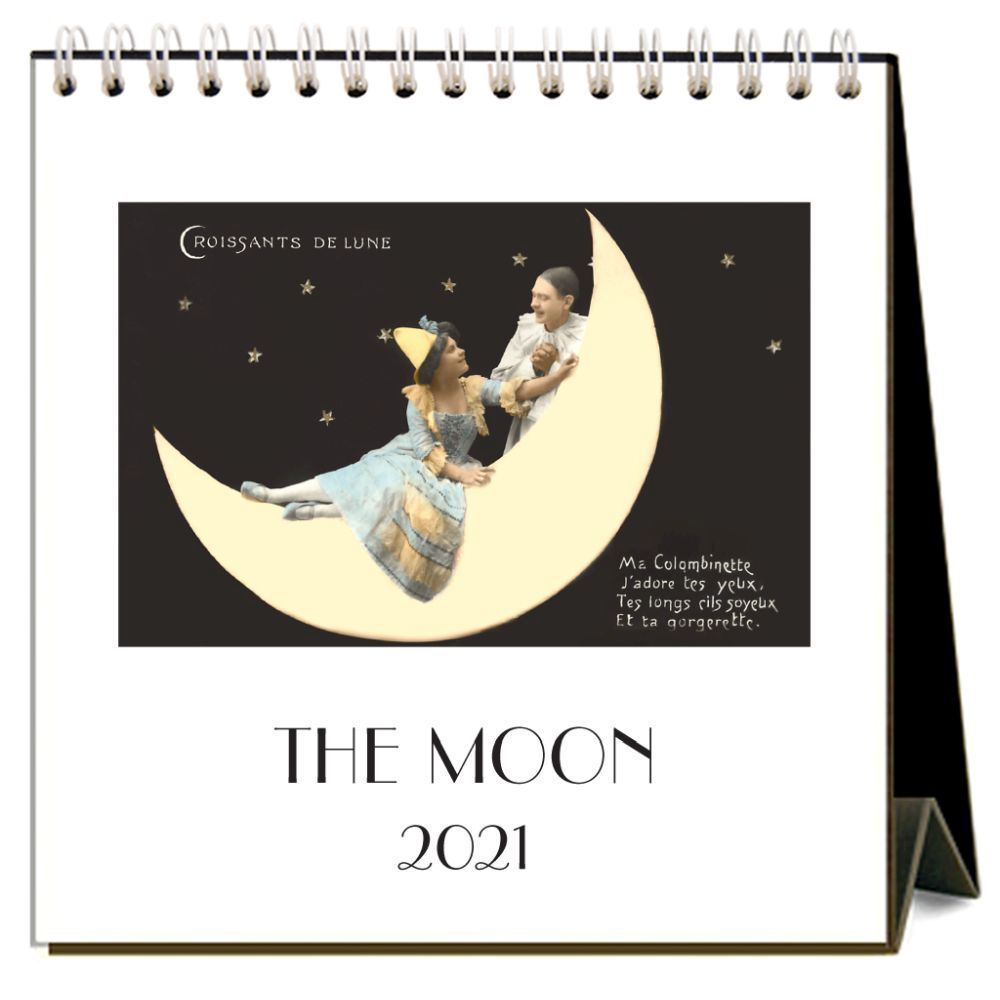 2021 Moon Easel Calendar