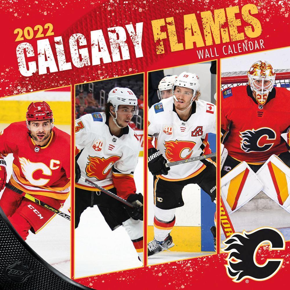 Calgary Flames 2022 Wall Calendar