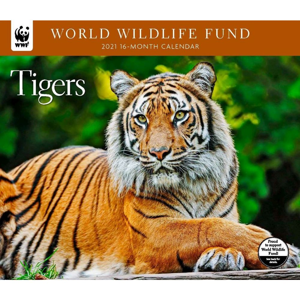 2021 Tigers WWF Wall Calendar