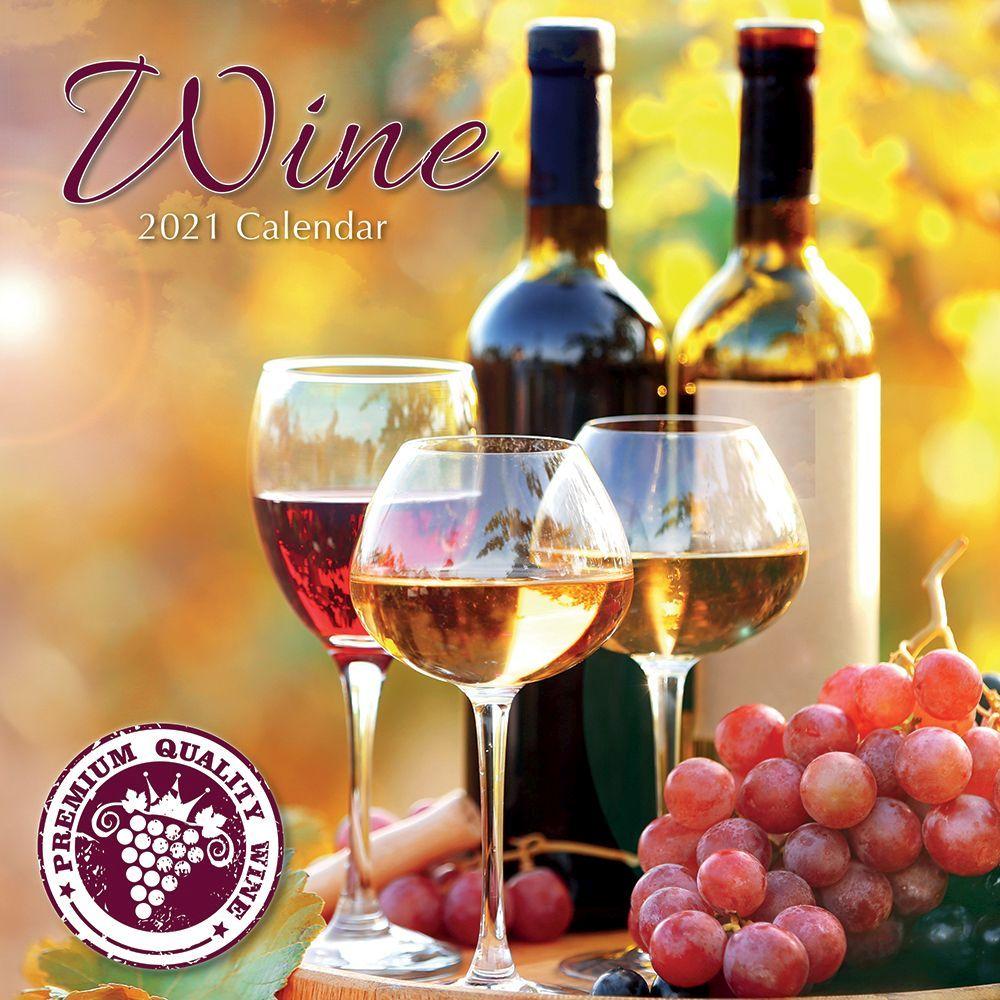 Wine 2021 Wall Calendar