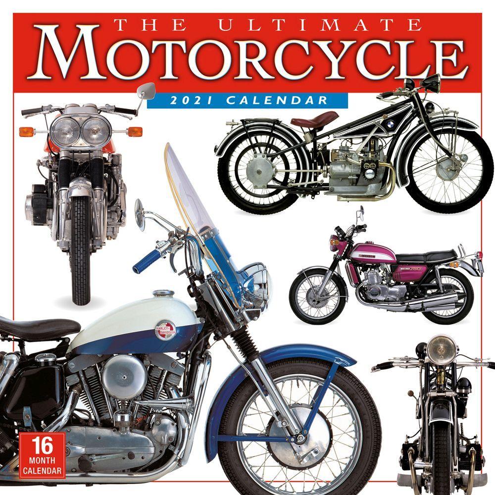 Ultimate Motorcycles Wall Calendar