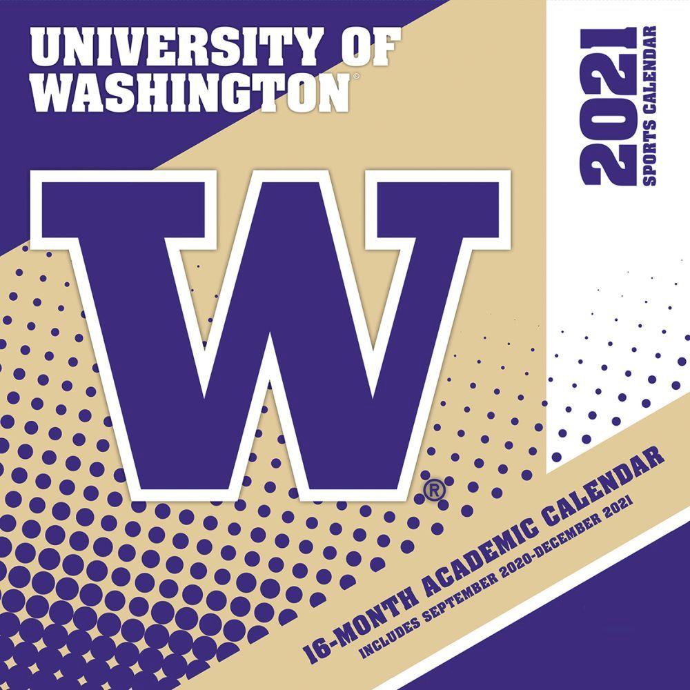 University of Washington Huskies 2021 Wall Calendar
