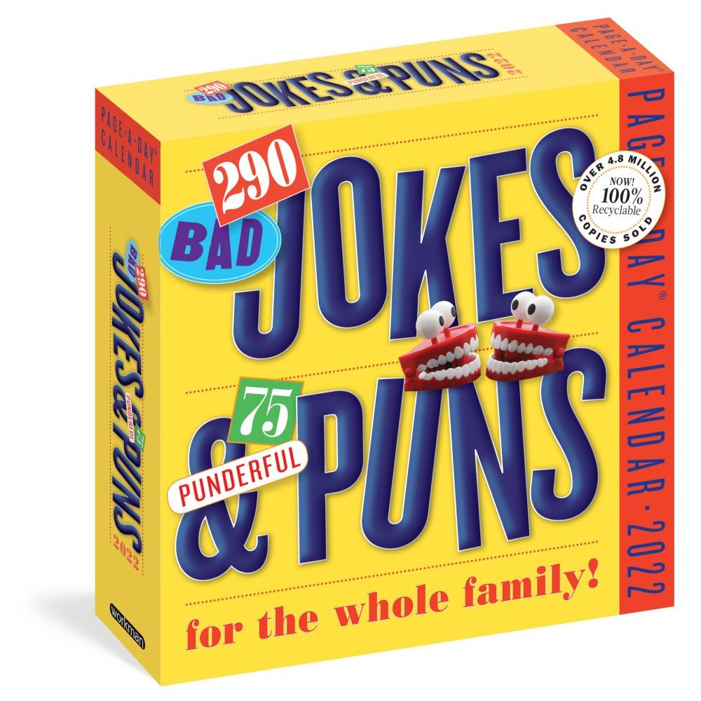 Jokes and Puns 2022 Desk Calendar