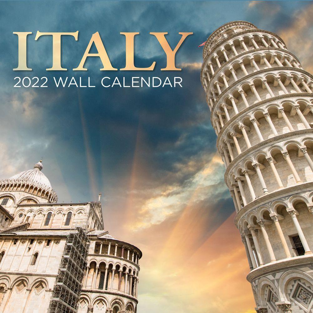 Italy 2022 Wall Calendar