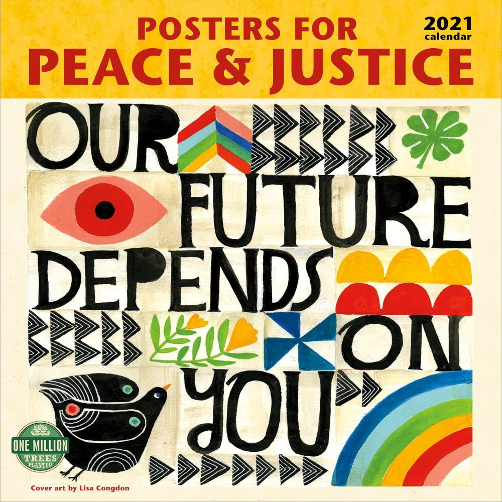 2021 Poster for Peace and Justice Wall Calendar