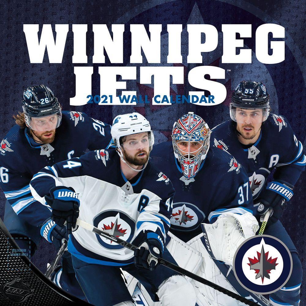 2021 Winnipeg Jets Team Wall Calendar