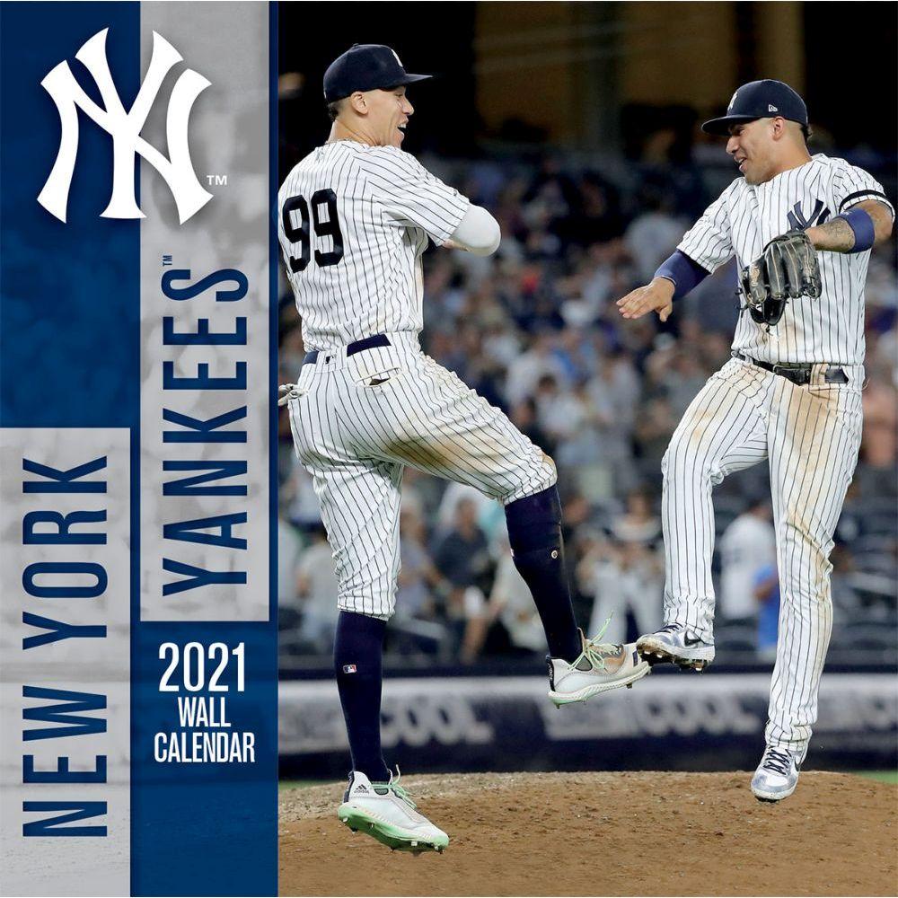 New York Yankees 2021 Wall Calendar