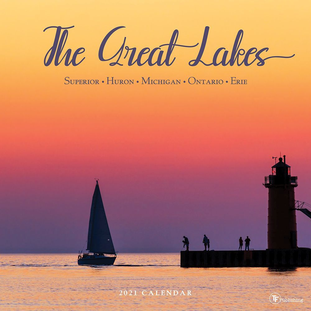 Great Lakes 2021 Wall Calendar