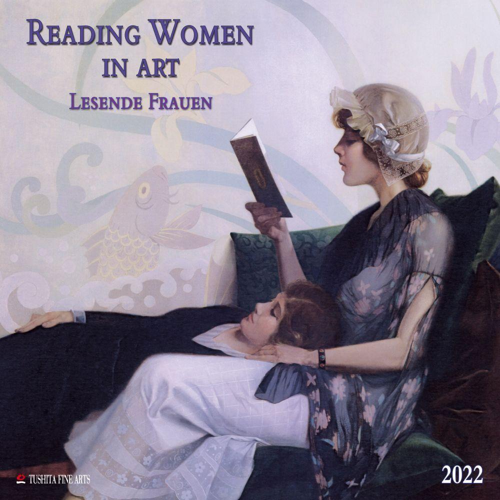 Art Of Reading 2022 Wall Calendar