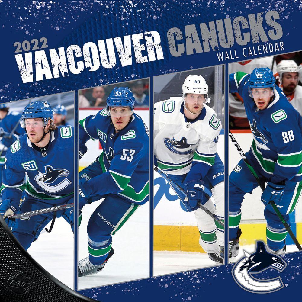 Vancouver Canucks 2022 Wall Calendar
