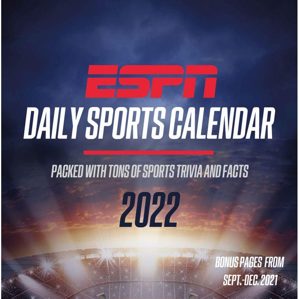 ESPN 2022 Desk Calendar