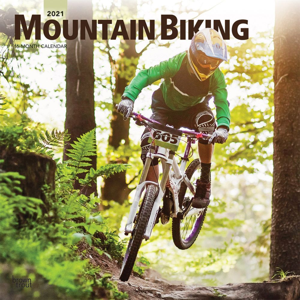 2021 Mountain Biking Wall Calendar