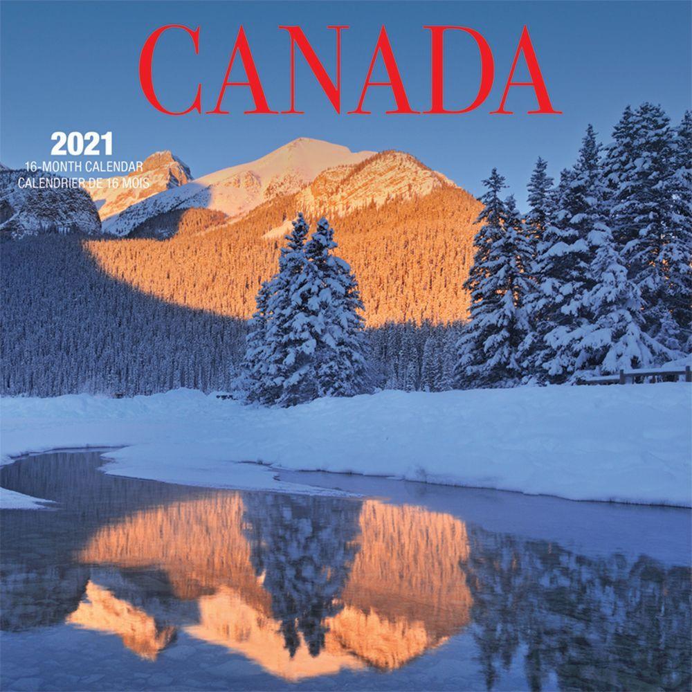 2021 Canada Mini Wall Calendar