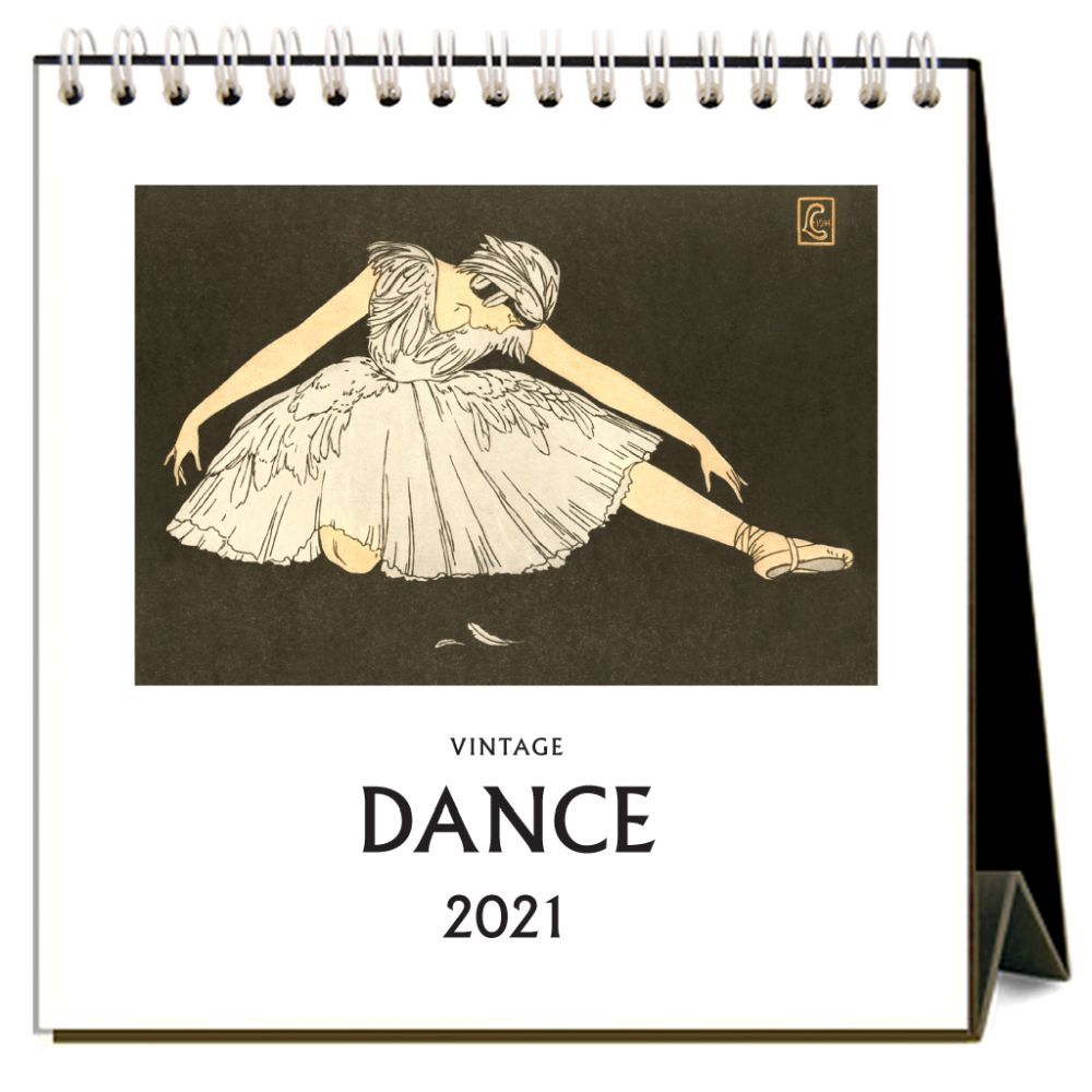 Dance 2021 Easel Calendar
