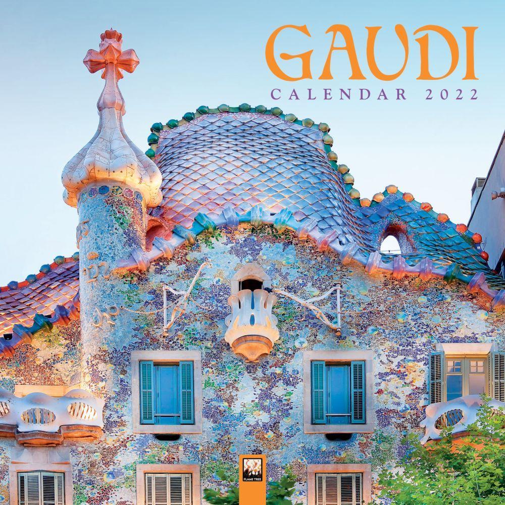 Gaudi 2022 Wall Calendar