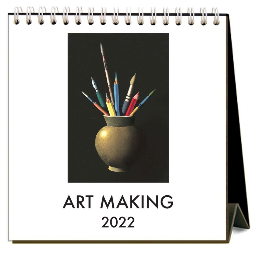 Art Making 2022 Desk Calendar