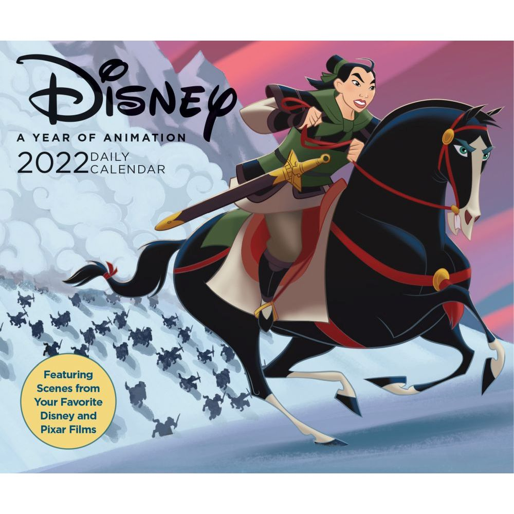 Disney Year of Animation 2022 Desk Calendar
