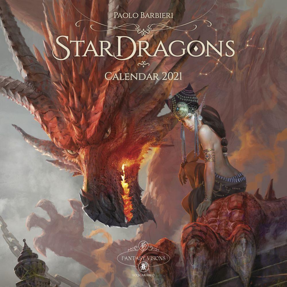 2021 Star Dragons Wall Calendar