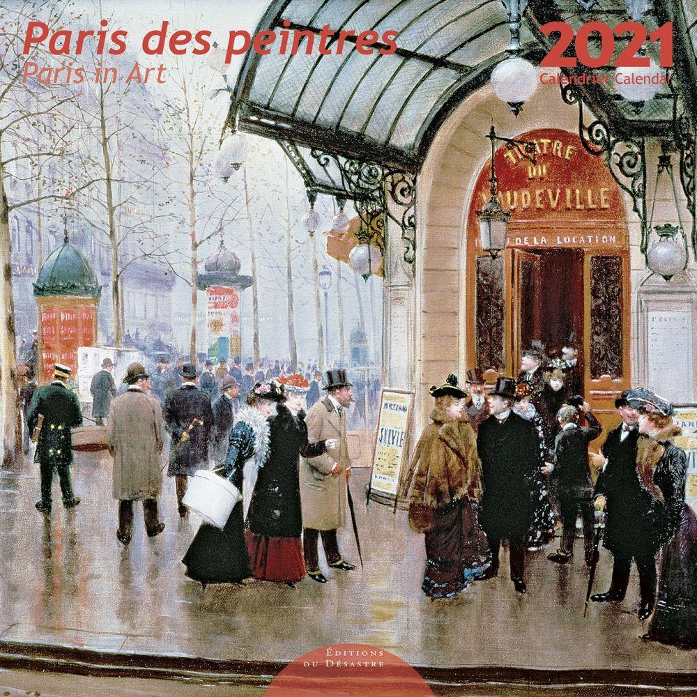2021 Paris des Peintres EdD Wall Calendar